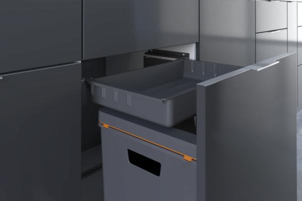 Einfach Reinigung - Clevere Abfallsysteme für die Küche.