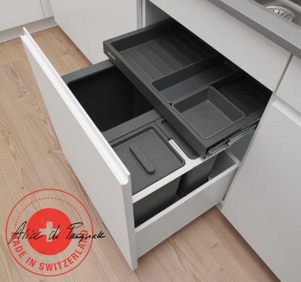 Die Erfolgsgeschichte von Müllex für die Abfalltrennung und Recycling in der Küche begann 1983.